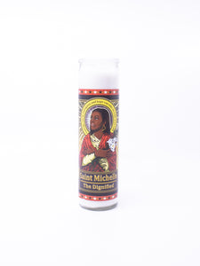 Omakase Saint Michelle Obama Candle