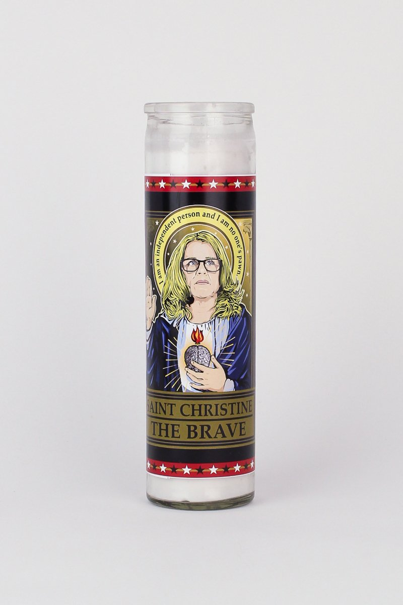 Omakase Saint Christine Blasey Ford Candle