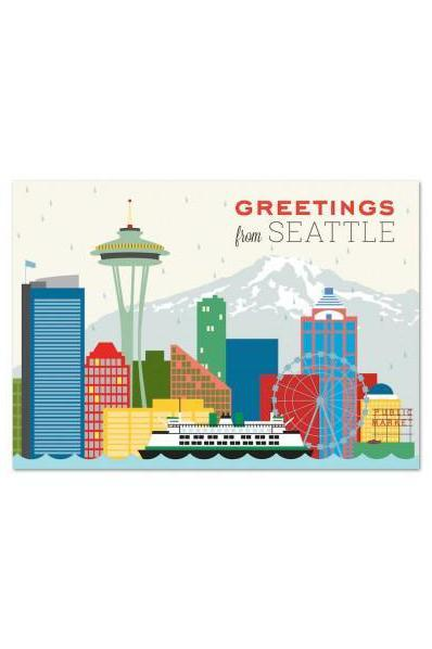 The Found Post Card Greetings From Seattle