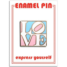 Load image into Gallery viewer, The Found Enamel Pin Trans Love