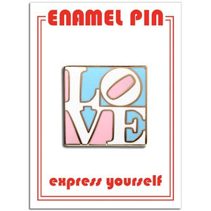 The Found Enamel Pin Trans Love