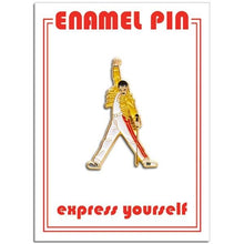 Load image into Gallery viewer, The Found Enamel Pin Freddie Mercury Yellow Suit