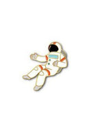 The Found Enamel Pin Spaceman