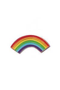 The Found Enamel Pin Rainbow