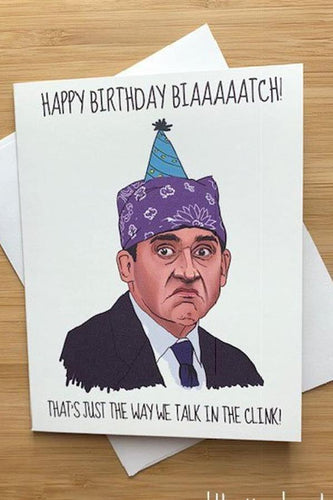 Yea Oh Greetings Prison Mike Birthday Card