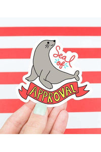 Turtle's Soup Seal of Approval Vinyl Sticker