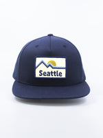 Northwest Vibes Seattle Snapback Navy