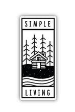 Load image into Gallery viewer, Stickers Northwest Simple Living Large Printed Sticker