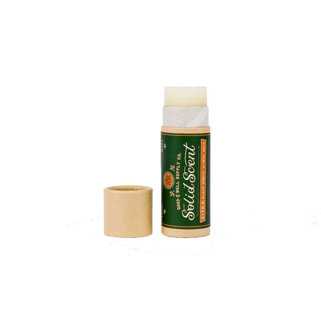 Good and Well Supply Co. Solid Fragrance Balm Sitka