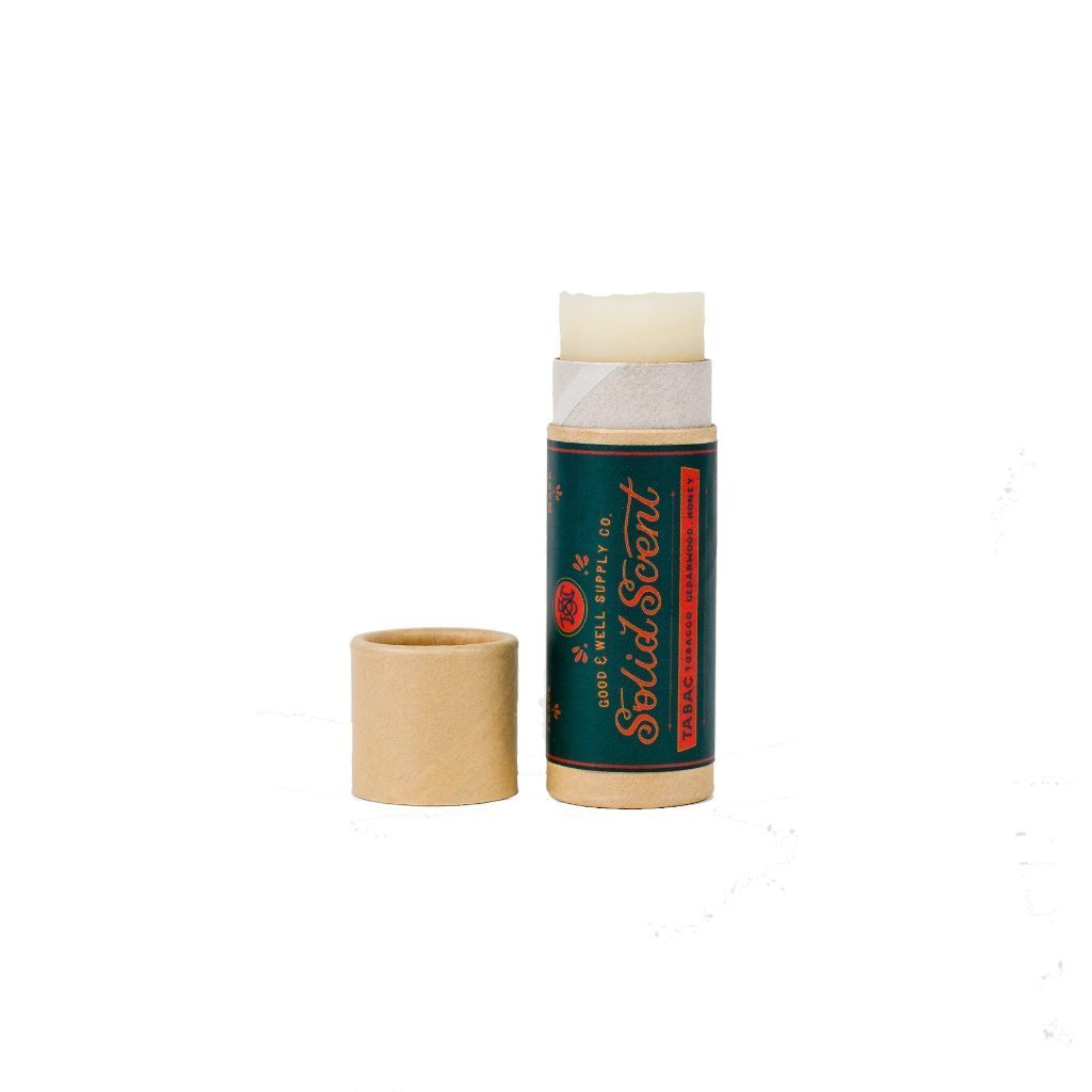 Good and Well Supply Co. Solid Fragrance Balm Tabac
