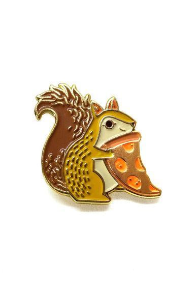 Lost Lust Supply Trash Squirrel Pizza Pin