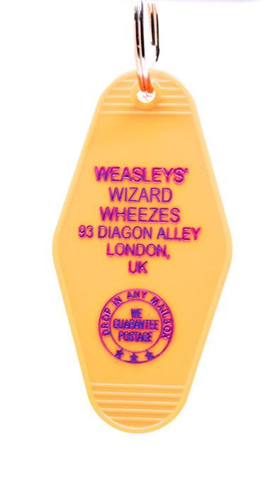 Three Sisters Motel Key Fob Weasley's Wizard Wheezes
