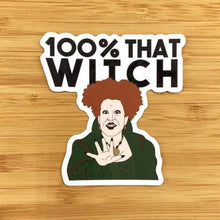 Load image into Gallery viewer, Citizen Ruth 100% That Witch Hocus Pocus Sticker