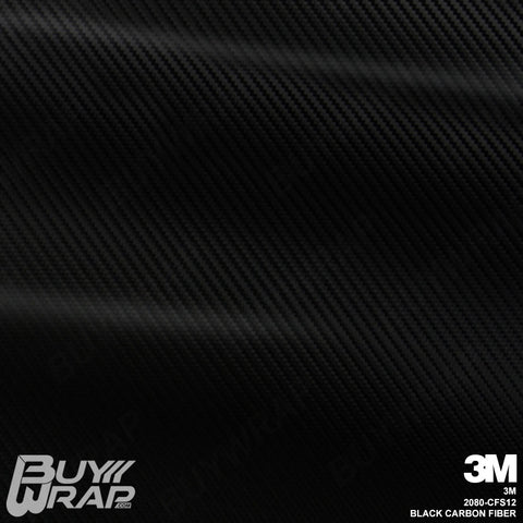 3M 2080 Black Carbon Fiber Wrap | CFS12