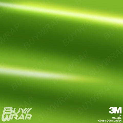 3m gloss light green