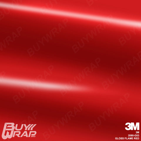 3m gloss flame red