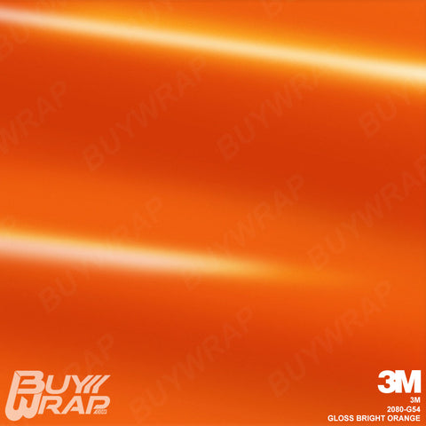 gloss bright orange