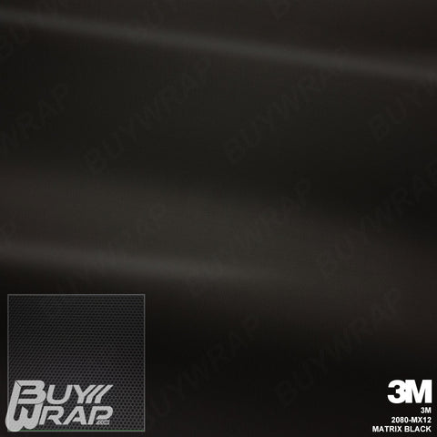 3m matrix black textured