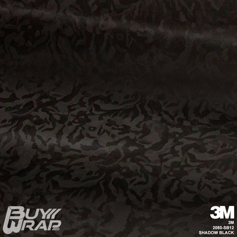 3m shadow black textured