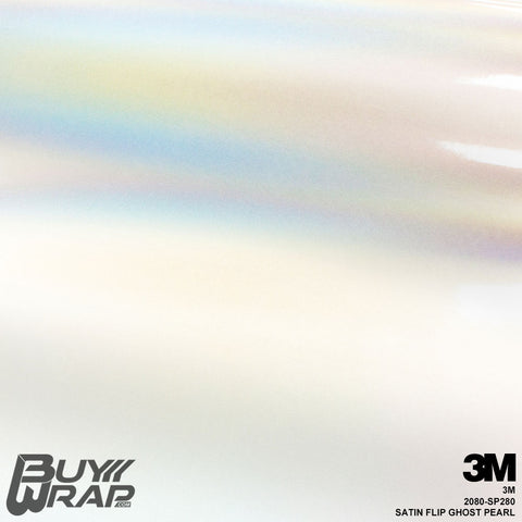 3M 2080 Satin Flip Ghost Pearl Wrap | SP280