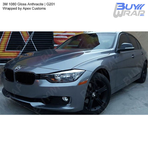 3M 1080 Gloss Anthracite Wrap | G201