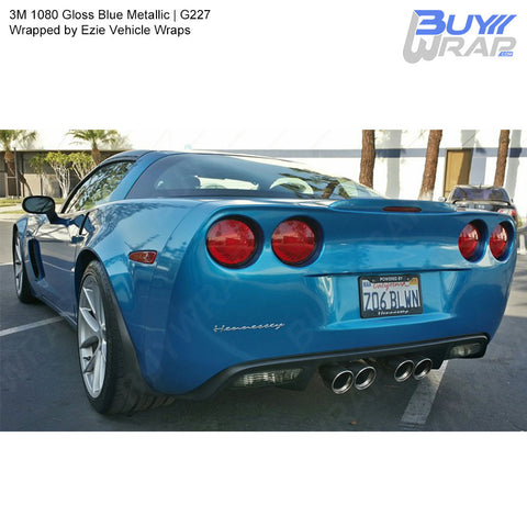 3M 1080 Gloss Blue Metallic Vinyl Wrap | G227
