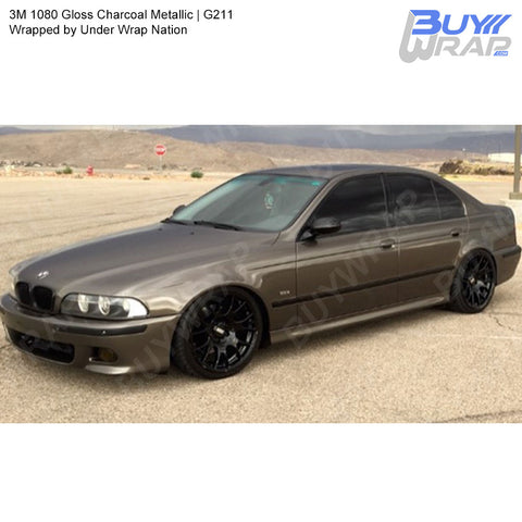 3M 1080 Gloss Charcoal Metallic Wrap | G211