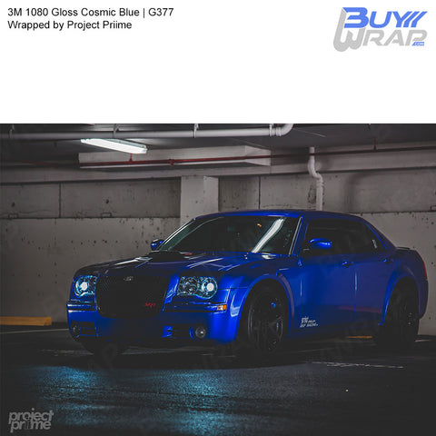 3M 1080 Gloss Cosmic Blue Wrap | G377