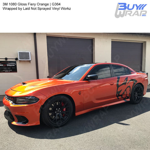 3m 1080 Gloss Fiery Orange Wrap G364 Buywrap Com