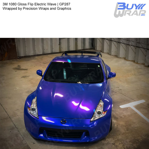 3M 1080 Gloss Flip Electric Wave Wrap | GP287