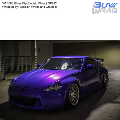 3M 1080 Gloss Flip Electric Wave Vinyl Wrap | GP287