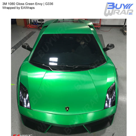 3M 1080 Gloss Green Envy Wrap | G336