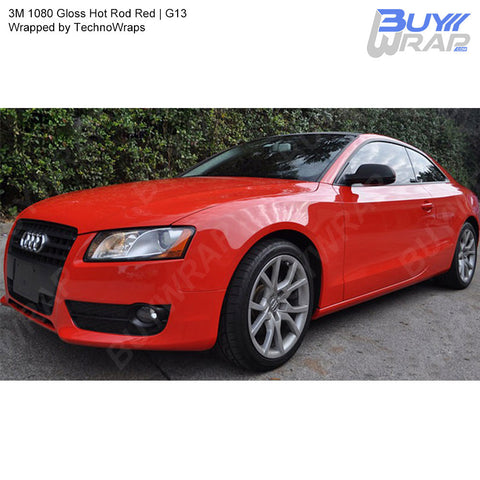 3M 2080 Gloss Hot Rod Red Vinyl Wrap | G13