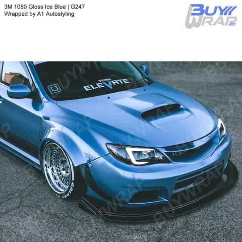 3M 1080 Gloss Ice Blue Vinyl Wrap | G247