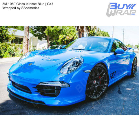 3M 1080 Gloss Intense Blue Wrap | G47