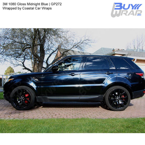 3M 2080 Gloss Midnight Blue Wrap | GP272