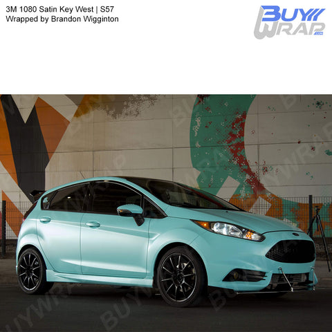 3M 2080 Satin Key West Vinyl Wrap | S57