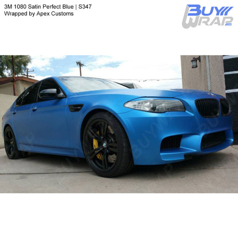3M 1080 Satin Perfect Blue Wrap | S347