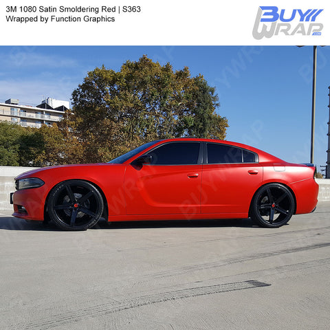3M 1080 Satin Smoldering Red Wrap | S363
