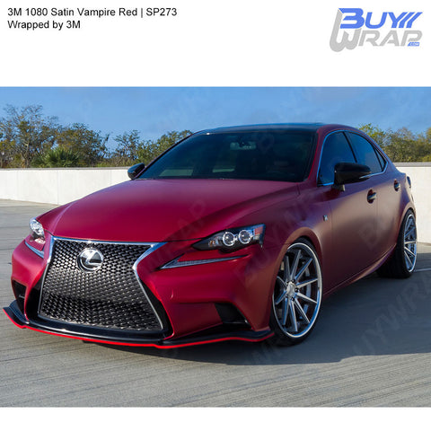 3M Satin Vampire Red Wrap | SP273-2080