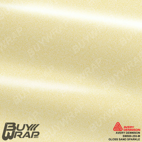 Avery SW900 Gloss Sand Sparkle Wrap | SW900-255-M