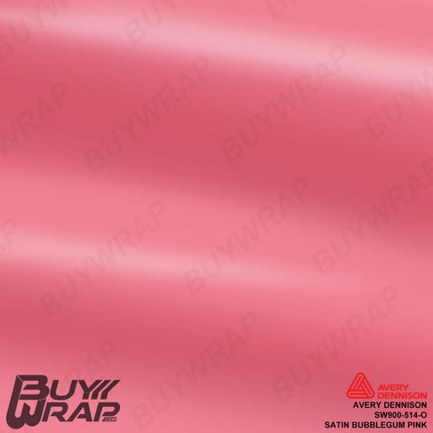 avery dennison satin bubblegum pink
