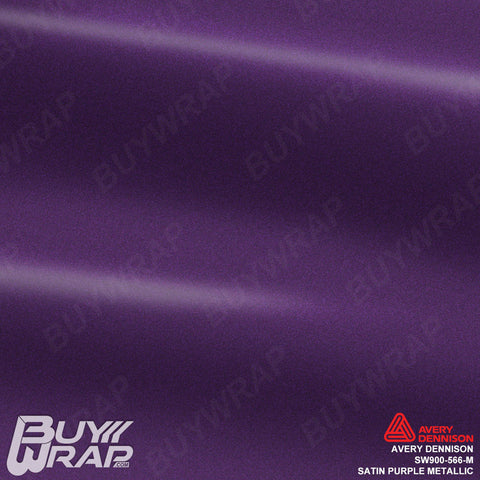 avery satin purple metallic