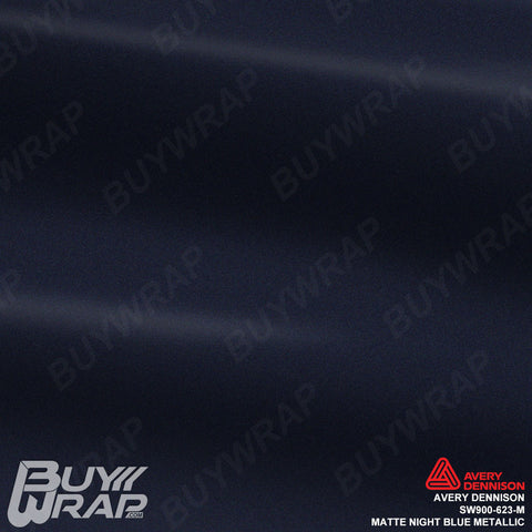 avery dennison night blue matte metallic