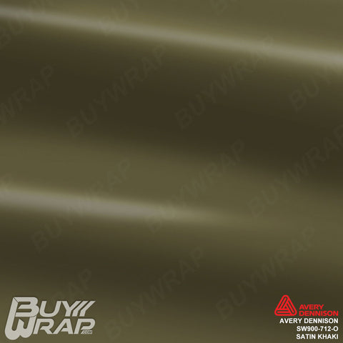 Avery SW900 Satin Khaki Wrap | SW900-712-O