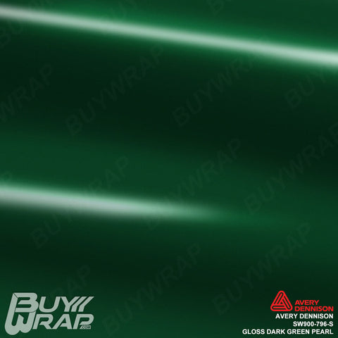 Avery Dennison SW900-796-S Gloss Dark Green Pearl Wrap