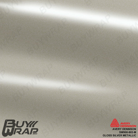 avery gloss metallic silver