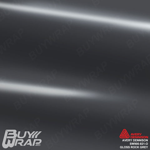 Avery SW900 Gloss Rock Grey Wrap | SW900-821-O