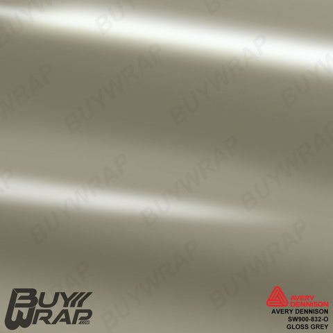 Avery SW900 Gloss Grey Wrap | SW900-832-O