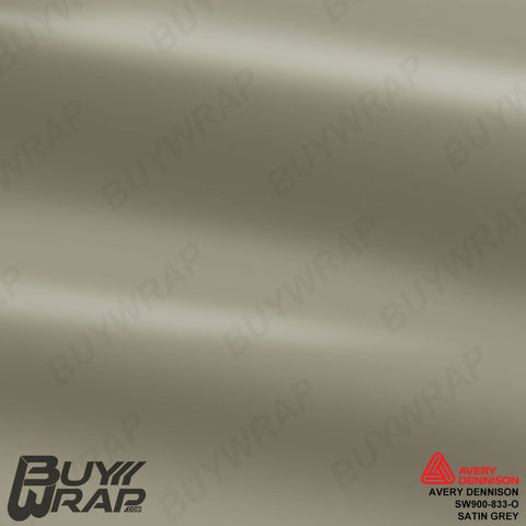 Avery SW900 Satin Gray Wrap | SW900-833-O